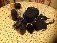 Nikon D5100 Camera and extra Lenses
