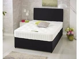 King Size 5ft Bed Top Quality 25cm Orthopaedic Mattress Can deliver Today Brand New Factory Direct