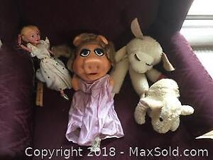 Vintage Puppet Lot B