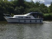 """""""Reduced"""" River Cruiser for sale. 31ft Alpha, 2/4 berth"""