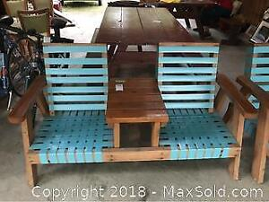 Double Seated Patio Set -C