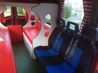 Vauxhall Movano 5 berth/6 seater Campervan Conversion