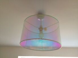 B&Q Colours Colours Sancia Iridescent Light Shade (D)400mm RRP £25