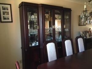 Wood Dining Room Set Perfect Condition London Ontario image 2