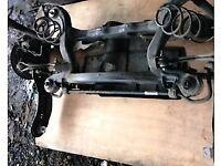 Genuine Volkswagen golf mk7 audi a3 8v rear axle complete hub caliper strut spring arms