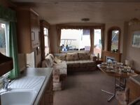CHEAP static caravan for sale North east coast line Outstanding facilities