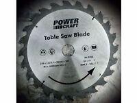 Power craft saw blade. 250 mm diameter.