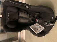 Car seat from Maxi Cosi, black, 9- 18 kg,seat axis,doesn't need isofix with seatbelt,safe and secure