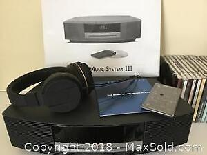 Bose Music System III And Classical CDs