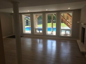 3 Bedroom 2 bathroom home with pool in Whitby Avail Aug 1