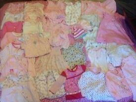 Big Baby Girls Bundle Mostly 0-3Months, Some 3-6. All good condition and pet and smoke free. £20
