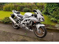 For sale 2004 plate Suzuki sv1000s