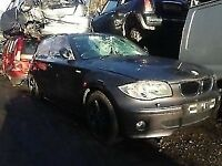 bmw 1 series 2005 grey 2.0 petrol automatic 5 door-Breaking For Spares Also