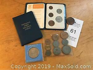 Lot Assorted British Coins