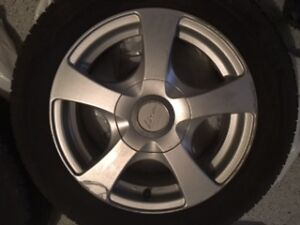 Winter Rims and Rubber for Prius C/Yaris and other small cars