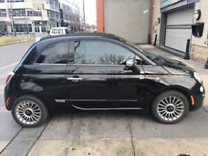 2012 Fiat 500c Chrome Convertible (Winter Tires included)