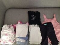 Bundle of baby clothes 0-12 months