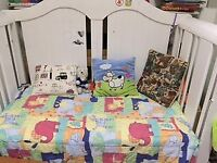 Boori sleigh cot bed from 0 to 5 years old