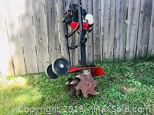 Yard Machines 121 R 31cc Two Cycle Gas Powered Cultivator Tiller