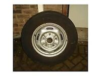 Transit wheels and tyres 15 and 16 inch