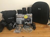 Olympus E410 Digital Camera with 2 x lenses and extras
