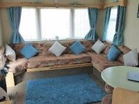 Caravan to let/Hire @ Cayton Bay Scarborough Bedding loads of dates left new caravan