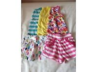 LITTLE GIRL SHORT & T SHIRT SET SIZE 12 – 18 MONTHS