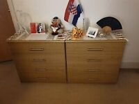 2 sets of drawers - Excellent Condition - ONLY FOR £120!