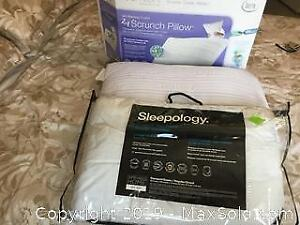 Two Pillows, Twin Duvet And Cover