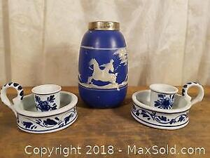 Blue and White Pottery