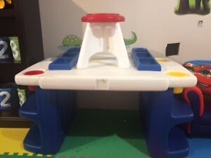Little Tikes Art Table and Stool