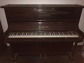 B Squire Piano Perfectly Playable