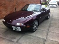 Mk1 Limited edition Roadster Eunos inc Special reg