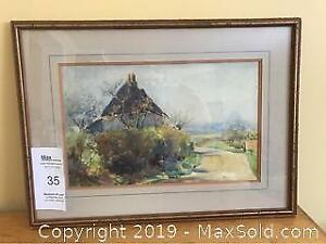 H.A. Mummery Signed Watercolour