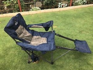 2x camping footrest chairs Baldivis Rockingham Area Preview