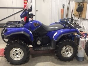 For Sale 2002 Yahama Grizzly Quad, Excellent Condition
