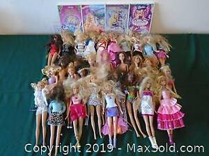 Assort Barbie Dolls and Movies