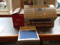Fax Machine + Replacement cartridge