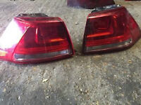 vw passat b7 estate rear outer lights for sale call for any info thanks