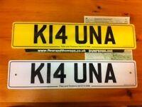 Personalised Car Number Plate