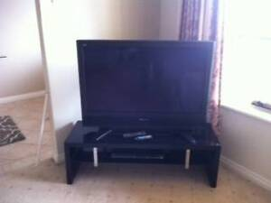TV Cabinet Black Gloss as New Greenwith Tea Tree Gully Area Preview