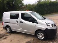 Nissan nv200 1.5 diesel crew cab for sale