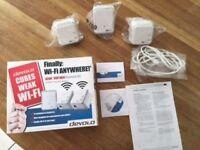 Devolo dLAN WiFi Network Powerline - triple pack