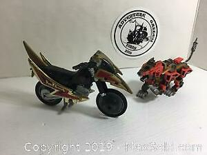 Power Rangers Bike and Zord
