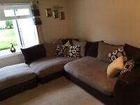 Small brown corner Suite