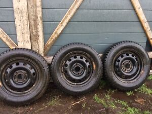 USED GREAT SHAPE NOKIAN HAKKAPELIITTA STUDDED WINTER TIRES