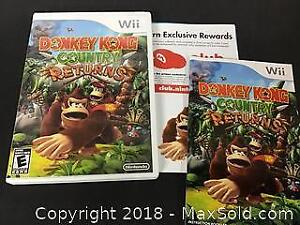 Wii game Donkey Kong Country Returns