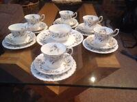 Royal Albert Tea Set (Brigadoon)