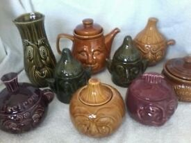 COLLECTION OF VARIOUS POTTERY £50.00 ONO