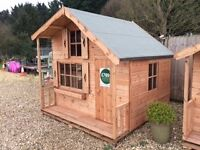 8x8 2/storey playhouse, many other sizes avaible to suit all budgets